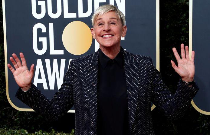 Ellen DeGeneres in januari van dit jaar.