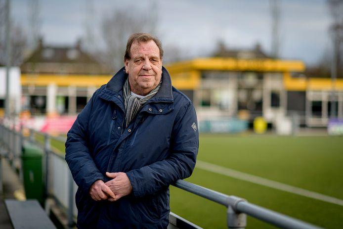 Voorzitter Bert Bosman van BVV Borne is blij dat de club nog alle leden binnenboord heeft kunnen houden.