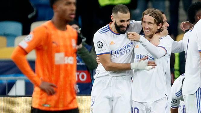 Real Madrid wint met forfaitcijfers in Oekraïne, Courtois houdt met knappe reddingen z'n netten schoon