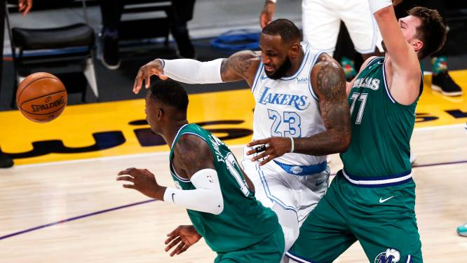 De nul weggewerkt: LA Lakers boeken eerste zege tegen Doncic en co