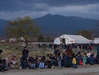 700 vluchtelingen zitten vast aan Grieks-Macedonische grens