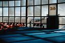 Het vliegveld van Las Vegas in 1982. Uit het boek 'Last Call' van Harry Gruyaert.