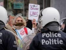 """La police prévient les manifestants: """"Ne venez pas à Bruxelles"""""""