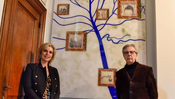 Symbolische stamboom vereeuwigt Joos Vijd in kasteel Cortewalle