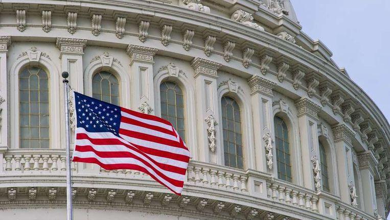Het Capitool in Washington. Beeld afp