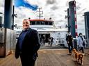 Reportage Wiljan Vloet als directeur Westerschelde Ferry Foto ; Pim Ras