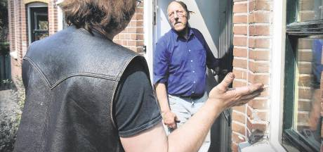 Pinpasoplichter treft politierechercheur aan achter voordeur in plaats van slachtoffer
