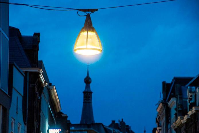 de oude lamp foto jan van eijndhoven