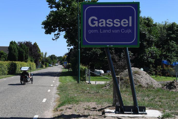 Gassel is een van de kerkdorpen van de gemeente Grave die straks bij de gemeente Land van Cuijk gaat horen.