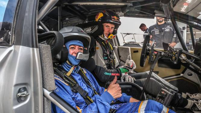 "Burgemeester Talpe rijdt mee met WRC-rallypiloot Elfyn Evans: ""Een unieke ervaring, maar nog nooit zo bang geweest"""
