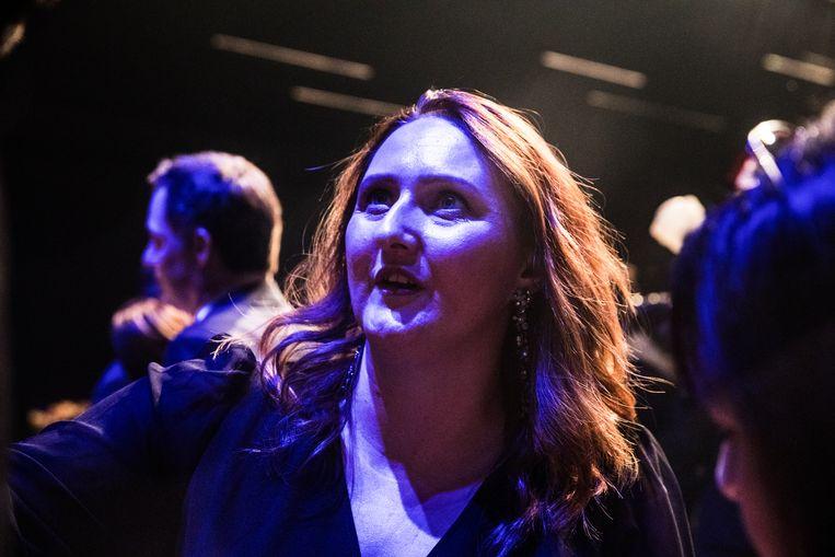 Gwendolyn Rutten krijgt binnen Open Vld verwijten van 'sabotage' en 'rancune'. Beeld Aurélie Geurts