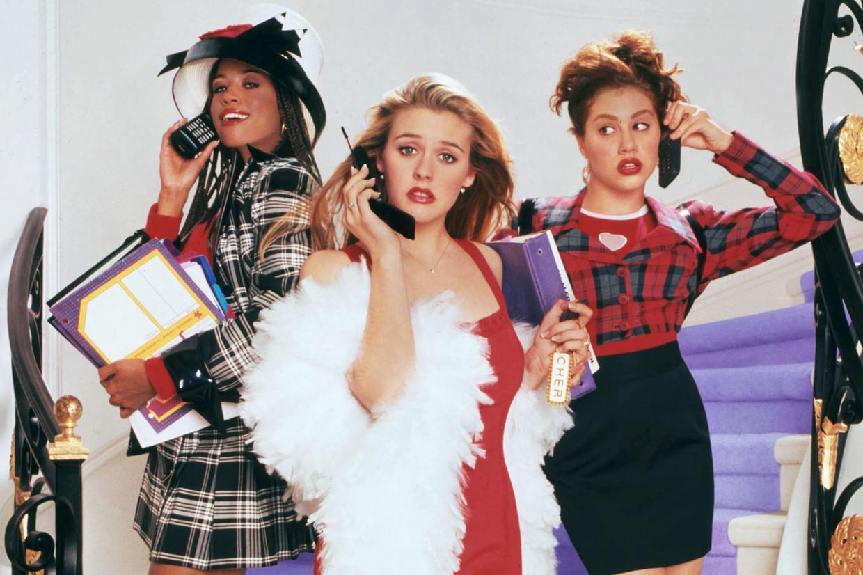 Stacey Dash, Alicia Silverstone en Brittany Murphy in de filmklassieker 'Clueless' (1995).