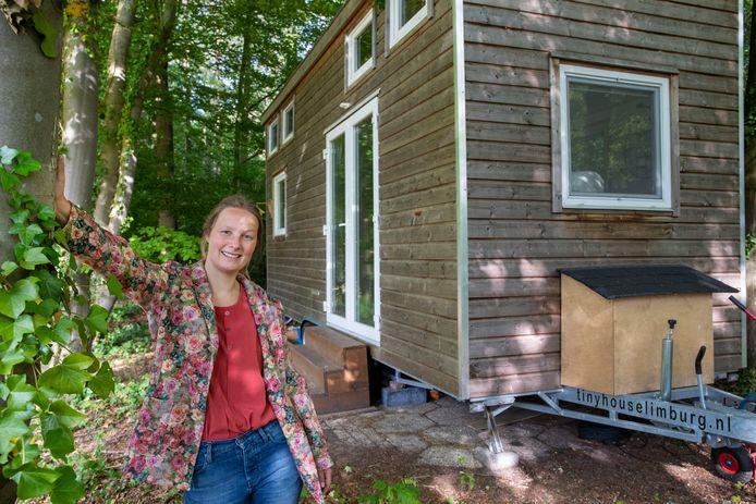 Elsje van de Weg is initiatiefnemer van de tiny houses in Wageningen.