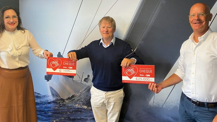 'Bossche Parel' succesvol met 'coronavlag': 37.500 euro voor het Rode Kruis