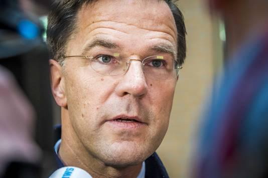 Minister President Mark Rutte.