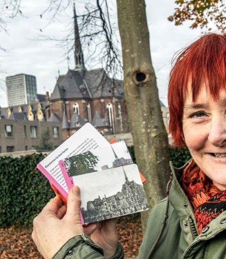 Met een stel kaartjes naar buiten en letterlijk dwalen door de historie van de Tiburgse wijk Sint Anna
