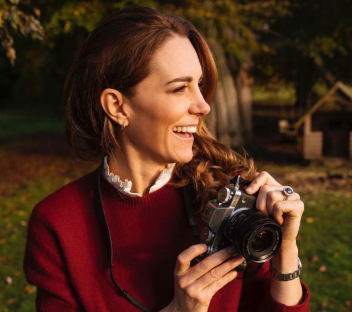 Kate Middleton lanceert fotoboek.