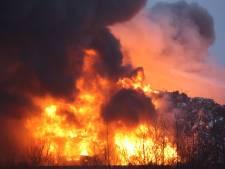 NL-Alert in Den Bosch en omgeving vanwege zeer grote industriebrand