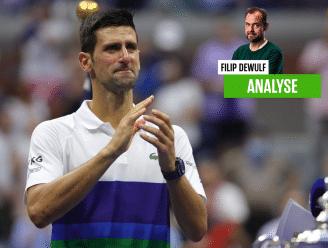 """Onze tenniswatcher ziet Djokovic de belangrijkste match uit z'n carrière verliezen, maar wél harten veroveren: """"Hij heeft zich menselijk getoond"""""""