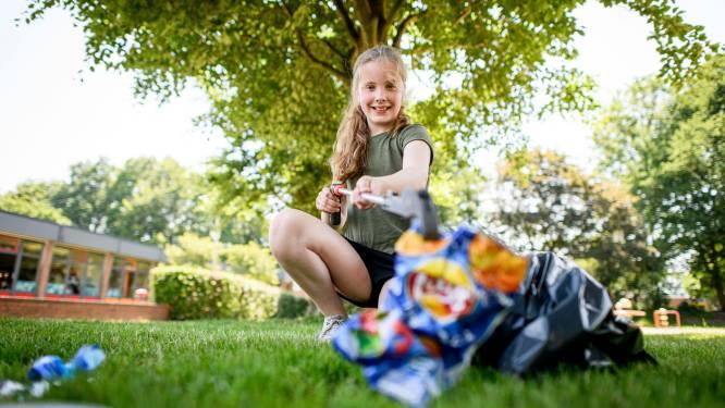 Jasmijn (9) wil meer aandacht voor zwerfafval en schreef een brief aan Mark Rutte