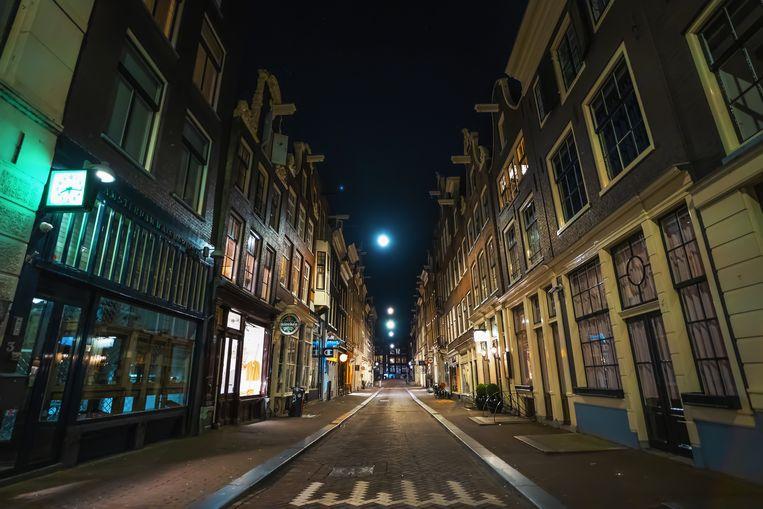 Avondklok in Amsterdam. Beeld Shutterstock