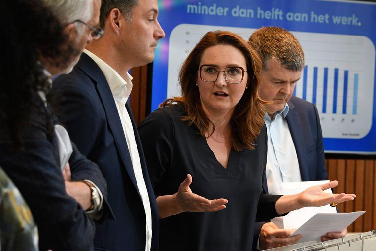 Gwendolyn Rutten van Open Vld.  Beeld Photo News