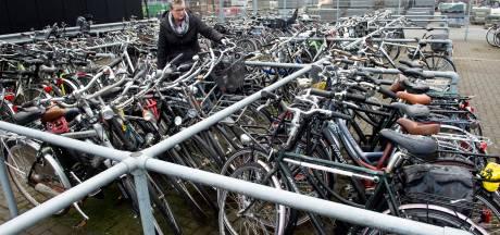 Honderden verwijderde fietsen per jaar in Apeldoorn, bijna niemand haalt ze op