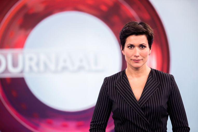 Journaalpresentator Annechien Steenhuizen Beeld ANP Kippa