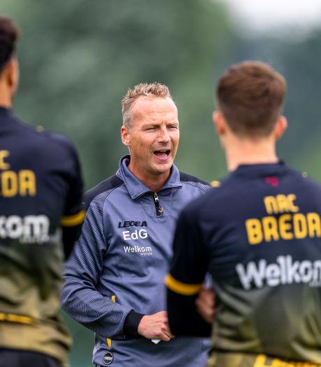 De Graaf wil best doorgaan als trainer: 'Ik weet hoe onrustig én hoe mooi het kan zijn bij NAC'