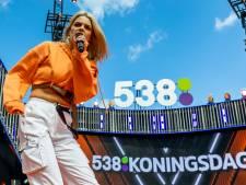 Ook Davina Michelle en Snelle te zien op 538 Koningsdag