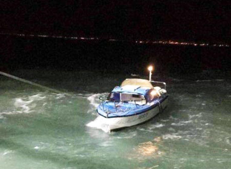 Sinds begin dit jaar zijn minstens 1.169 mensen die onderweg waren naar Engeland op het Kanaal onderschept door de Franse autoriteiten (archieffoto). Beeld SNSM Dunkerque