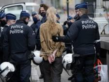Action d'Extinction Rebellion à Bruxelles: une soixantaine d'arrestations