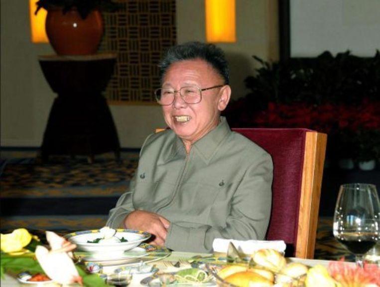 De Noord-Koreaanse leider Kim Jong-il. ANP Beeld