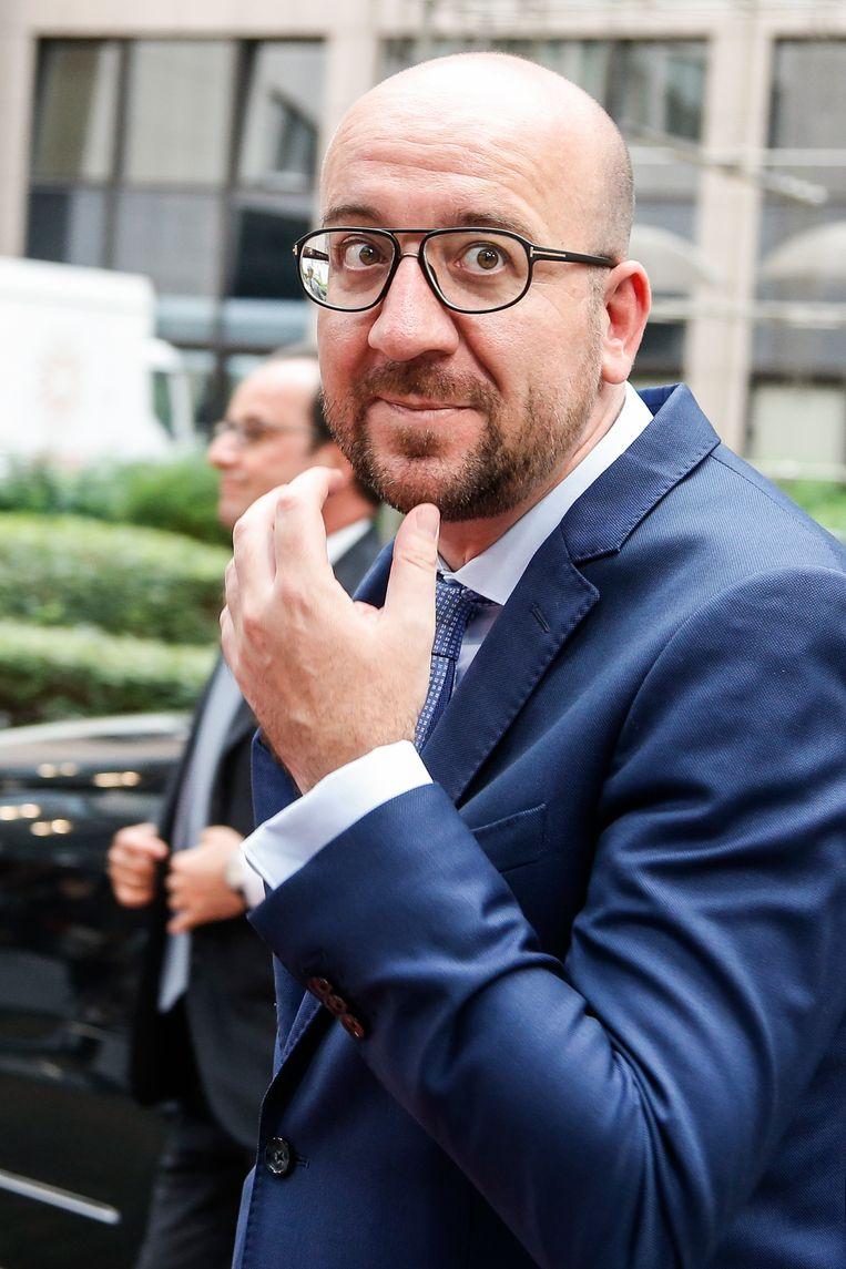 Premier Michel. Beeld BELGA