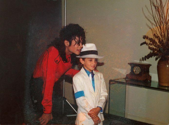 Michael Jackson met Wade Robson