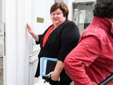 Le personnel soignant a tourné le dos à Maggie De Block à Bruxelles, Charleroi, Liège et Namur