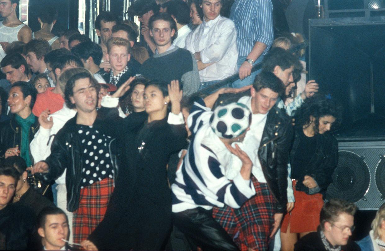 Dancing Bocaccio - Destelbergen - 30/10/1988 Beeld Humo
