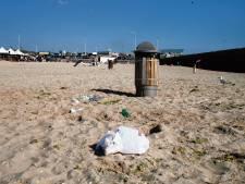 Minder afval op de stranden dankzij schonere Noordzee