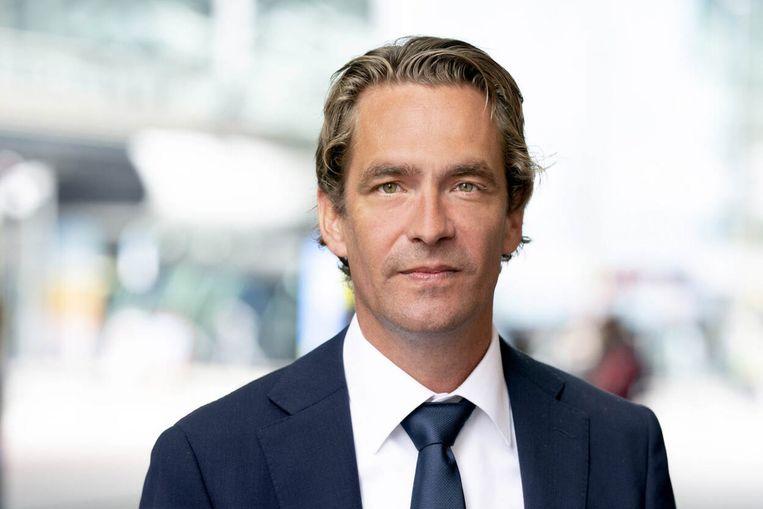 Staatssecretaris Van 't Wout.  Beeld VVD