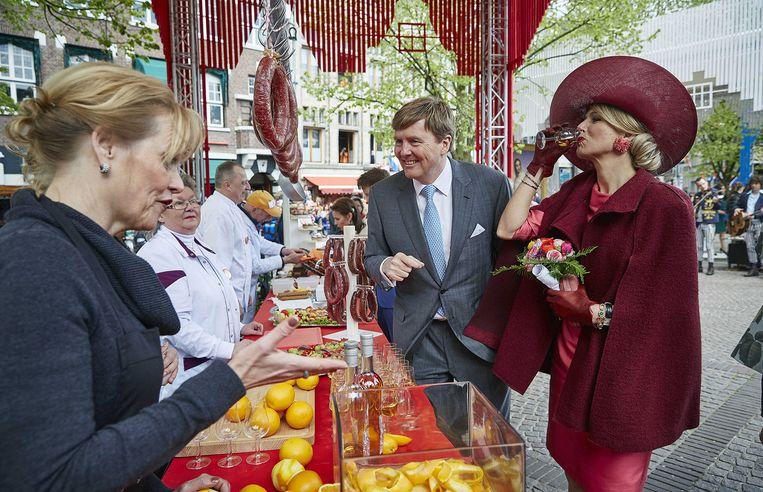 Koning Willem-Alexander en koningin Máxima. Beeld anp