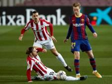 Spaanse bekerfinale Athletic Club - FC Barcelona
