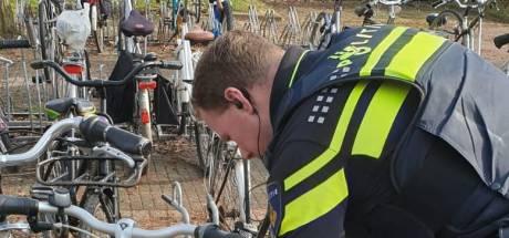 Gestolen fietsen aangetroffen bij azc Elden