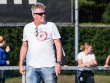 Korfbalcoach Wilco van den Bos moet Sparta in het hart van de hoofdklasse parkeren