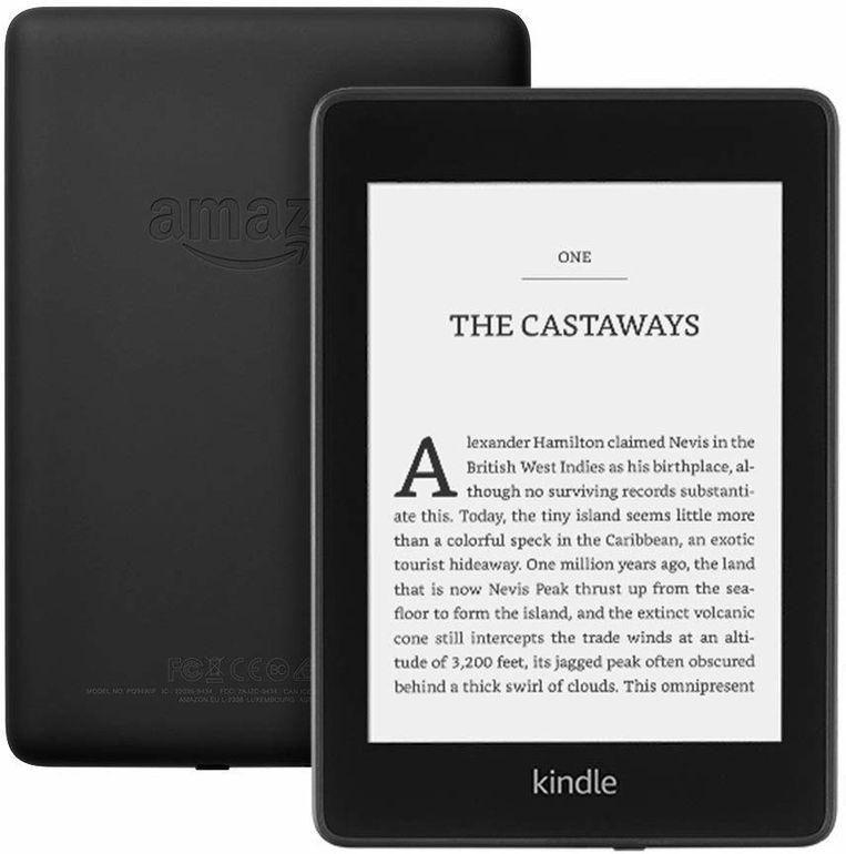 De nieuwe Kindle PaperWhite-uitvoering. Beeld Amazon