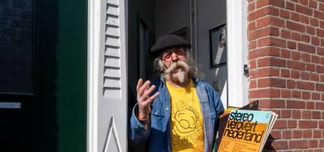 Nachtburgemeester Leo IJdo draait plaatjes vanuit huis: 'Iedereen kan van afstand meegenieten'
