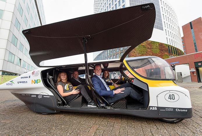 Het Solar Team Eindhoven en Eneco