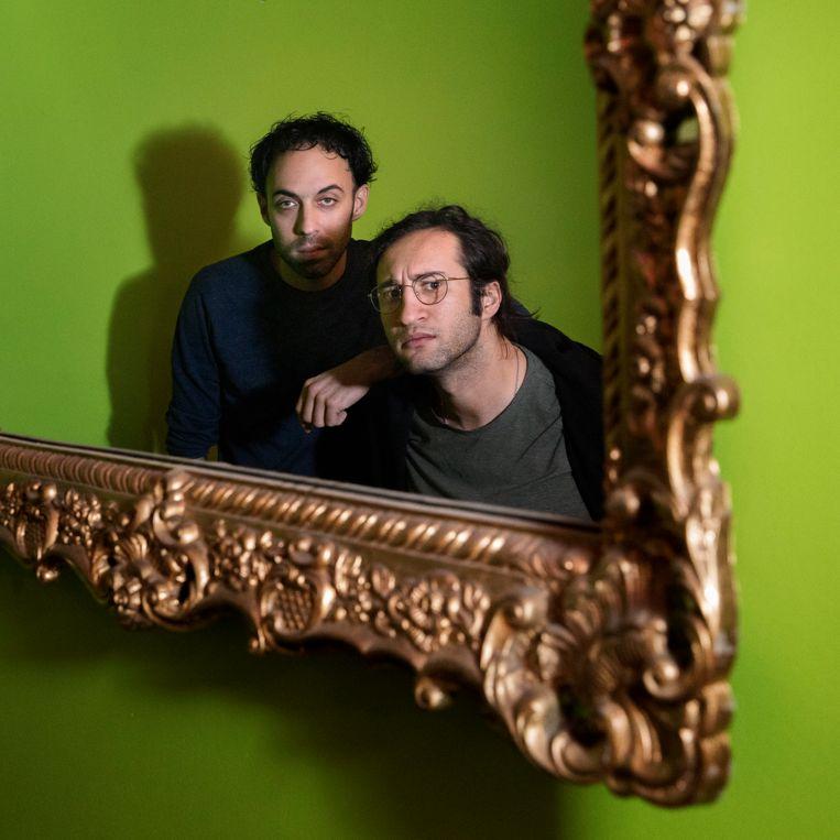 Eran Ben-Michaël (links) en George Elias Tobal hebben het morele gelijk aan hun kant.  Beeld Inge Van Mill