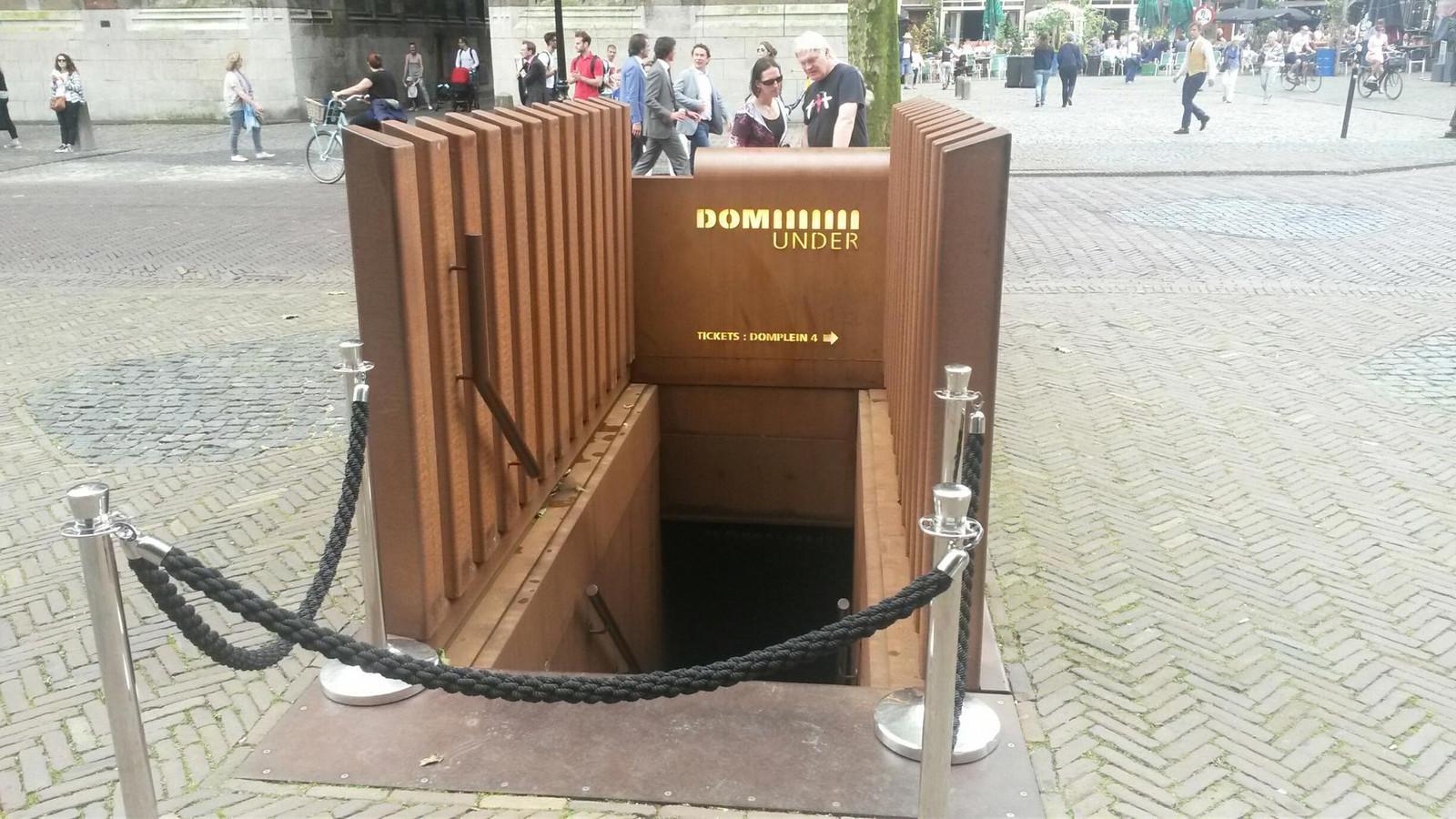 De ingang van DOMunder