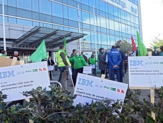 196 banen op de tocht bij IBM: vakbonden plannen nog meer acties