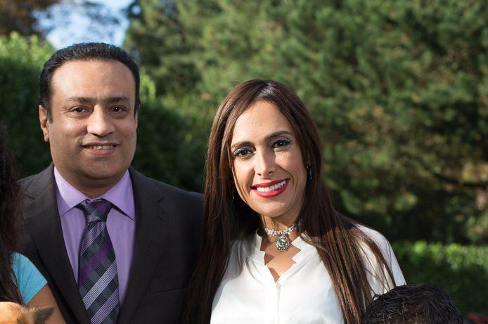 Darya Safai en haar man Saeed Bashirtash